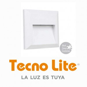 LUM.-EXT.-LED-BCO-CUAD.-1W-4000K-100-240
