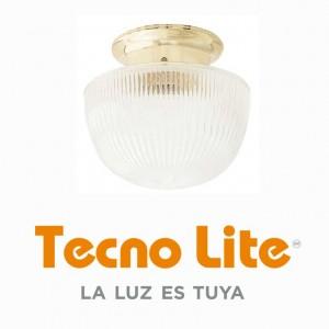LUM.-TECHO-MEDIA-ESFERA-LATON-127-V(12G)